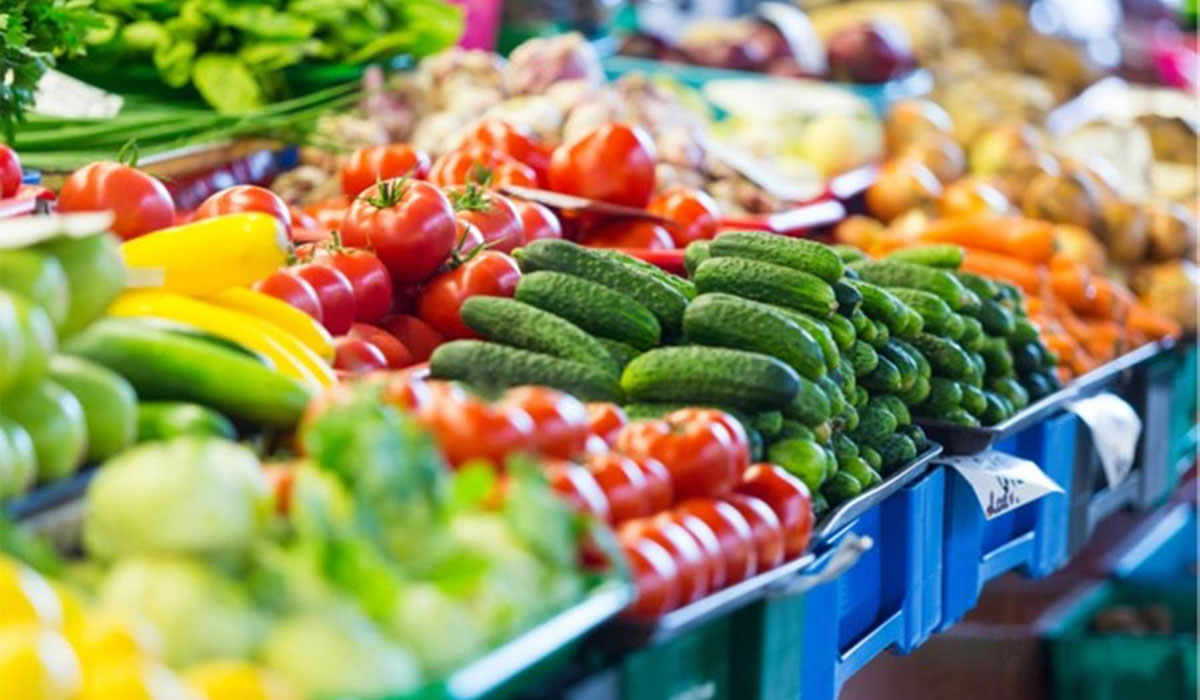 Gezonde producten in de supermarkt
